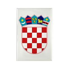 Croatia Hrvatska Emblem Rectangle Magnet