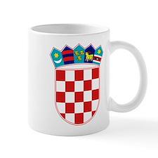 Croatia Hrvatska Emblem Small Mug