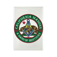 California Brothers Rectangle Magnet (10 pack)