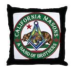 California Brothers Throw Pillow