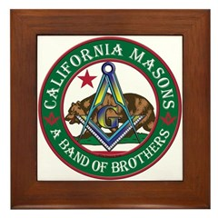 California Brothers Framed Tile