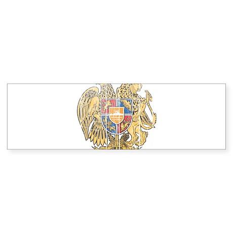 Armenia Coat Of Arms Sticker (Bumper)