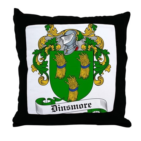Dinsmore Coat of Arms Throw Pillow