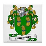 Dinsmore Coat of Arms Tile Coaster