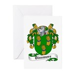 Dinsmore Coat of Arms Greeting Cards (Pk of 10
