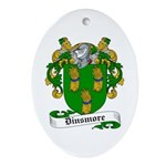 Dinsmore Coat of Arms Oval Ornament