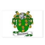 Dinsmore Coat of Arms Postcards (Package of 8)