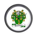 Dinsmore Coat of Arms Wall Clock