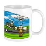 Airforce Pilots and Biplanes Mug