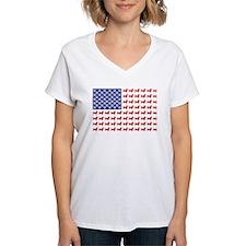 USA Patriotic Dachshund Shirt