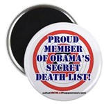 "Death List 2.25"" Magnet (10 pack)"