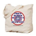 Death List Tote Bag