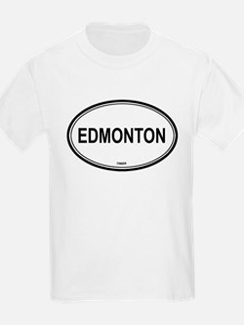 Edmonton, Canada euro Kids T-Shirt