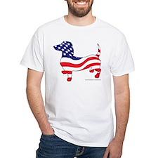 Patriotic Wiener Dachshund Shirt