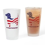 Usa flag Pint Glasses