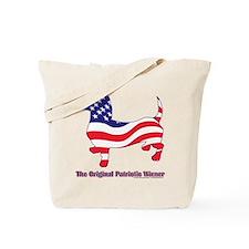 Original Patriotic Wiener Dac Tote Bag