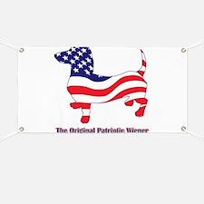 Original Patriotic Wiener Dac Banner
