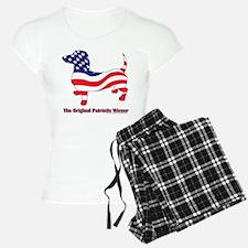 Original Patriotic Wiener Dac Pajamas
