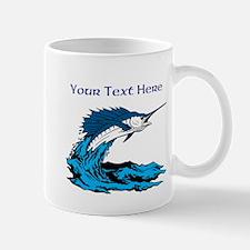 Personalizable Swordfish Design Mug