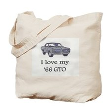1966 GTO Tote Bag