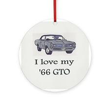 1966 GTO Ornament