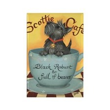 Scottie Cafe Magnet