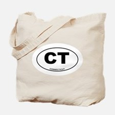 Connecticut State Tote Bag