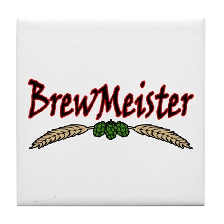 BrewMeister.png Tile Coaster