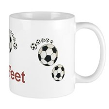 Soccer - Fast Feet Mug