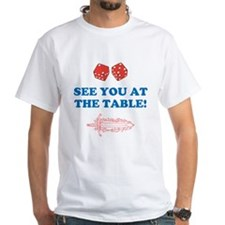 SEE YOU AT THE TABLE DICE SWORD Shirt