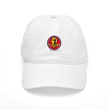 WTD White/Tan Baseball Cap