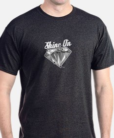 Shine On (In Memory) Charcoal T-Shirt