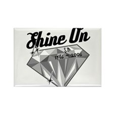 Shine On (In Memory) Rectangle Magnet