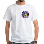 New York Brothers White T-Shirt