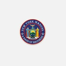New York Brothers Mini Button
