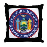 New York Brothers Throw Pillow