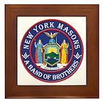 New York Brothers Framed Tile