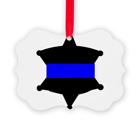 ThinBlueLinebadge.png Picture Ornament