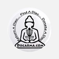 "Discarma logo 3.5"" Button"