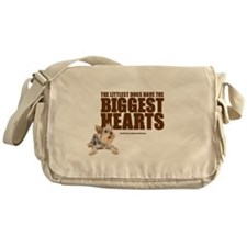 Yorkie Hearts Messenger Bag