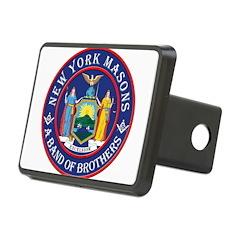 New York Freemasons. A Band of Brothers. Rectangul