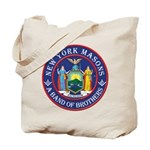 New York Freemasons. A Band of Brothers. Tote Bag
