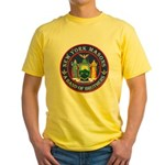 New York Freemasons. A Band of Brothers. Yellow T-