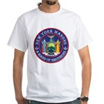 New York Freemasons. A Band of Brothers. White T-S
