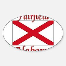 Fairfield Alabama Sticker (Oval)