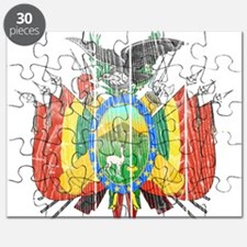 Bolivia Coat Of Arms Puzzle
