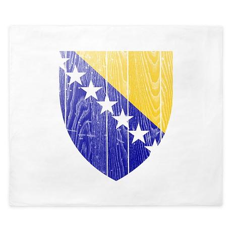 Bosnia and Herzegovina Coat Of Arms King Duvet