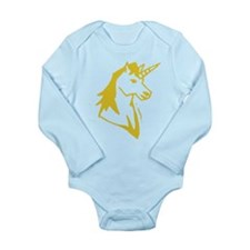 Unicorn Long Sleeve Infant Bodysuit