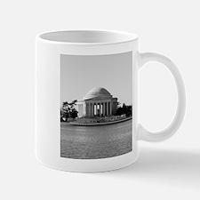 Black and White Jefferson Mug