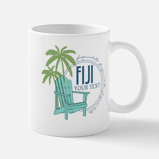 Phi Gamma Delta Palm Chair Perso Mug